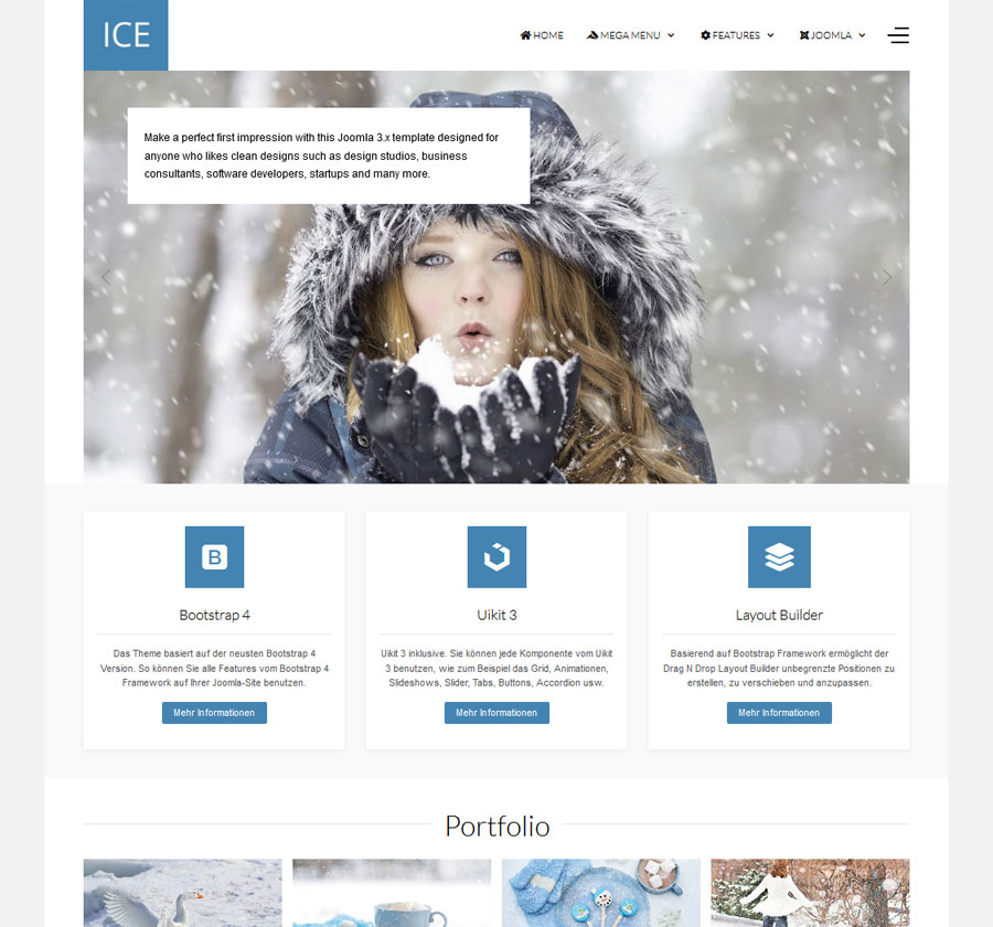 ice Joomla Template